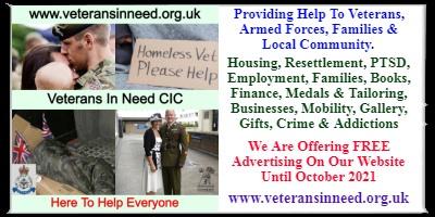 Veterans In Need C.I.C Swansea